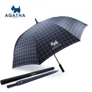 아가타 70 체크 장우산
