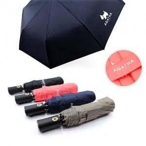 아가타 3단 솔리드 완전자동우산