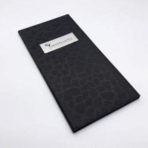 디지털 블랙 메뉴판