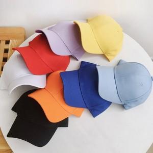 에코라이프 심플어린이 컬러 모자(BA123)