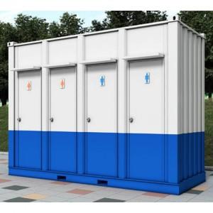 간이 화장실 박스형 KCT04 (4조)