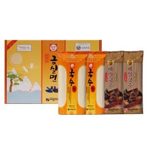 소면+메밀국수 대왕제면 2-5호 선물세트