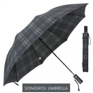 SW 2단 모던체크 우산