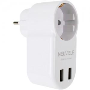 뉴빌레 USB 1구 어댑터 (1박스 40개)