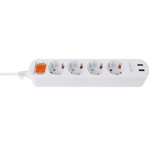 (16A) 뉴빌레 USB 절전멀티탭 4구 3m (1박스 30개)