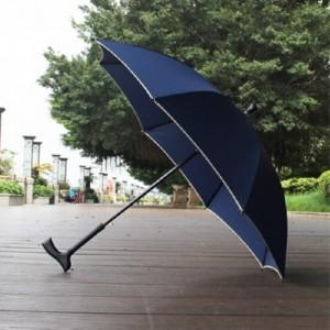에코라이프 어르신 미끄럼 방지 안전 우산 지팡이 CA442