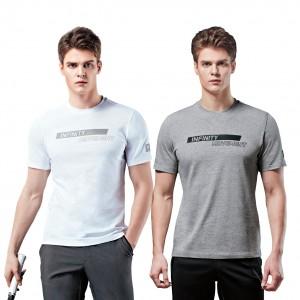 남여공용 면 반팔 라운드 티셔츠 WILSON