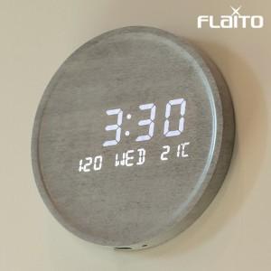 플라이토 문클락 인테리어 LED 벽시계 시즌2 23.7cm가격:84,900원