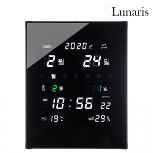 국산 루나리스 GPS 수신 LED 디지털 전자벽시계(대)가격:118,000원