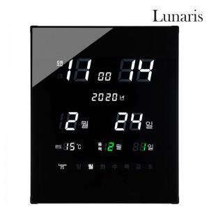 국산 루나리스 GPS수신 리치 온습도 LED 전자벽시계가격:125,000원
