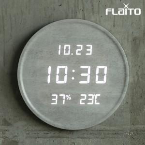 플라이토 루나 온습도 LED 벽시계 29.5cm가격:109,000원