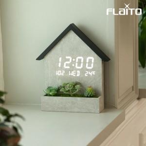 플라이토 우드 하우스 인테리어 LED 벽시계가격:99,000원