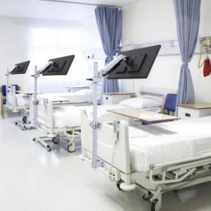 병원 침대용 모니터 거치대 HBA-1