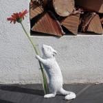 다람쥐 화병 - 프로포즈오브제 핸드메이드 인테리어 소품 레진 디퓨저스틱 꽃