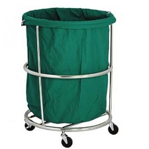 세탁물 운반카 (원형/사각) HJ-5000,HJ-5050