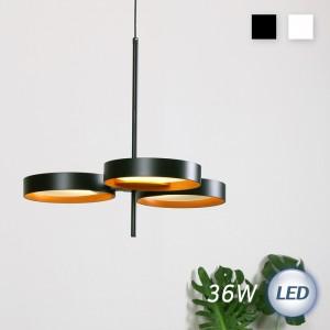 LED 퓨처 3등 펜던트 36W