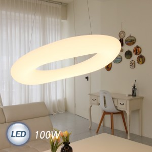 LED 뭉크 펜던트 대 100W (900파이)