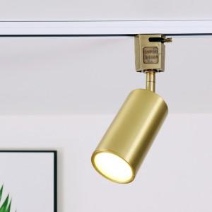 포텐 스포트 레일 - 브론즈 도금 플러그 ( LED GU10 사용 )