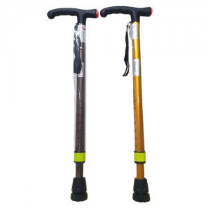 튼튼한 국산 효도 지팡이 2단 어르신 높이조절 보행스틱 실버용품