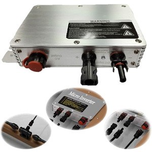 WVC 300W Solar Power Micro-inverter 계통연계형 마이크로 인버터 300w (3m전원케이블)