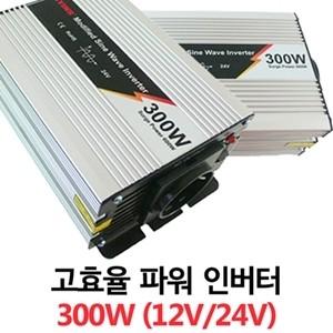 [JYM-300] 12V/24V 300W 고효율 파워 인버터 USB 5V 태양광 차량용