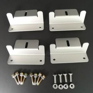 TP-LKR01 태양광 알루미늄 브라켓 Aluminum Mounting Brackets 4pc(1조)