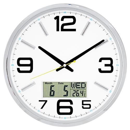 국민캘린더무소음벽시계 JS6020
