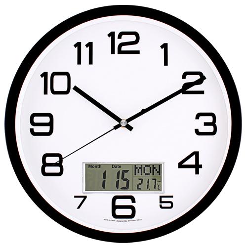 국민캘린더무소음벽시계 JS6013