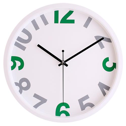 딥그레이무소음국민벽시계 JS5118