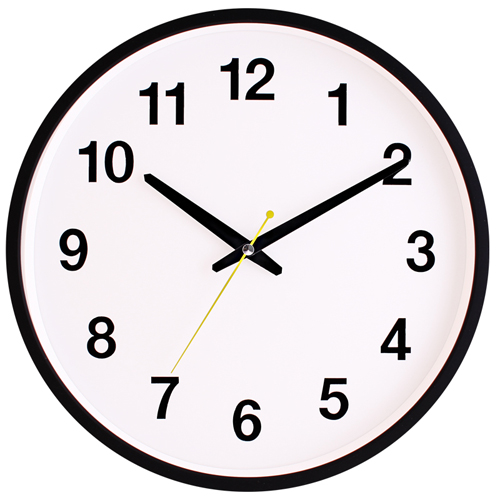 국민무소음벽시계 JS5114
