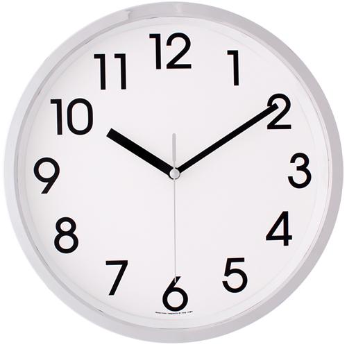 더블크롬벽시계 JS3601