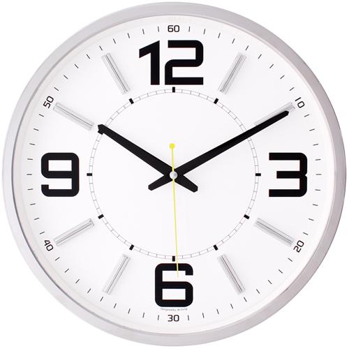 포드크롬무소음벽시계 JS3509