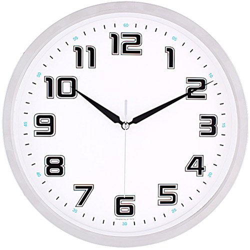 안시크롬벽시계 JS3420