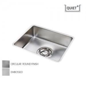 [배수구포함]QUIET 540/서큘러라운드 재질 SET (씽크볼+점보배수구+수세미망) 백조싱크/백조씽크가격:227,000원
