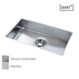[배수구포함]QUIET 800/서큘러라운드 재질 SET (씽크볼+점보배수구+와이어 바스켓+수세미망) 백조싱크/백조씽크가격:272,000원