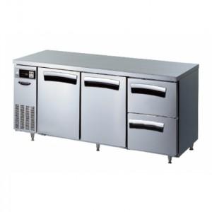 라셀르 테이블 냉장고 (간냉식) (LT-1834R-SSD)