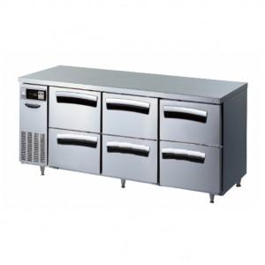 라셀르 테이블 냉장고 (간냉식) (LT-1834R-DDD)