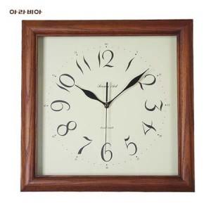 원목사각벽시계(아라비아/로마)가격:43,000원