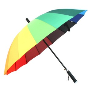 14K 60무지개 장우산
