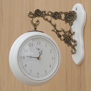 미니큐빅양면시계[화이트]