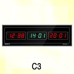 C3 620X185X40mm 월드타임 전자시계