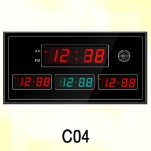 C04 620X320X30mm 월드타임시계