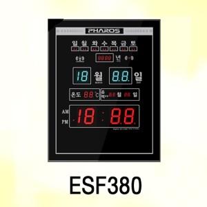 ESF380/ 시간자동보정,온도표시,음력표시