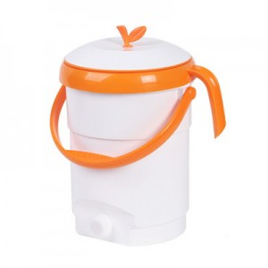 밀폐형 리프 음식물 쓰레기통 4.5L