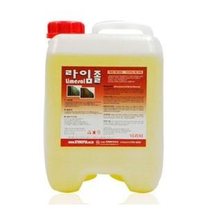 [석재 바닥용 백화제거제라임졸10L]