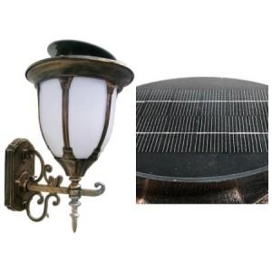 4713 LED 태양광 정원등 중형 [문주등/벽등, 1와트/2와트]