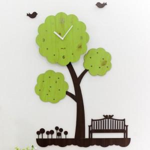 나무의꿈 무소음벽시계