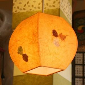 특가 [한지등] 단지팬던트[연주황민속무늬]-대각선 사이즈가격:42,900원