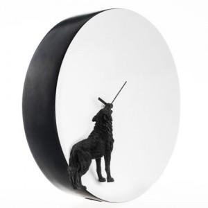 Moon X CLOCK - Wolf (늑대 벽시계)