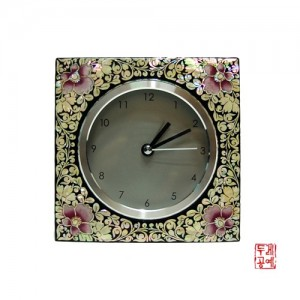 나전사각시계 소 - 꽃문